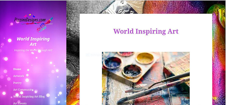 Word Inspiring Art Community Website