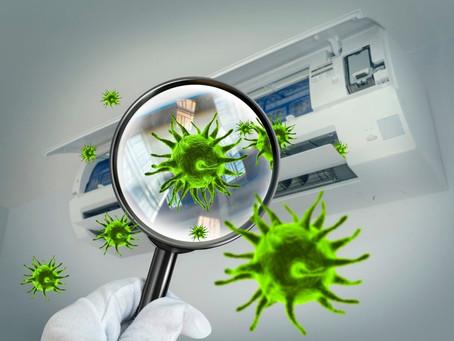 A falta de manutenção em ar-condicionado pode ser um criadouro de vírus?