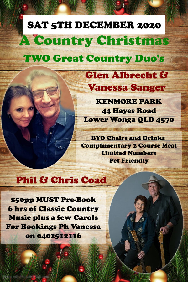 Country Christmas Poster 5th December.jp