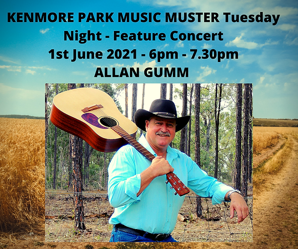 KENMORE PARK MUSIC MUSTER Tuesday Night