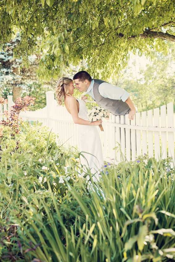 Big Sky Photographer - Wedding Couple Playful Moment