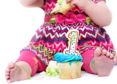 Bozeman Baby Photographer - birthday baby