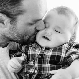 Bozeman Baby Photographer - kissing baby