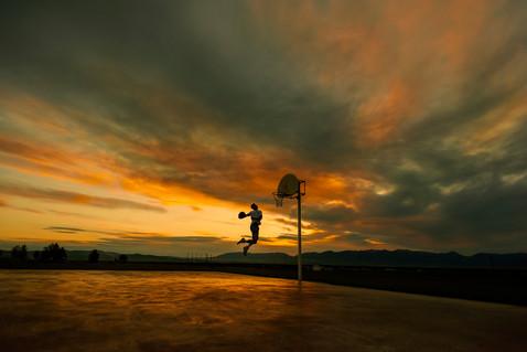 Bozeman Senior Photographer - sunrise senior