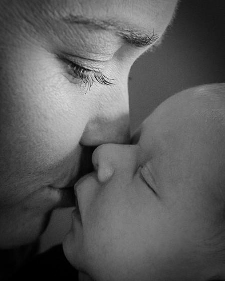 Bozeman Baby Photographer - mothers love