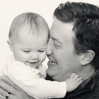 Bozeman Baby Photographer - father daughter