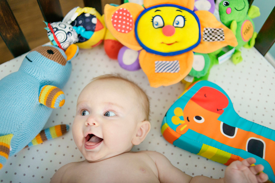 Bozeman Baby Photographer - happy baby