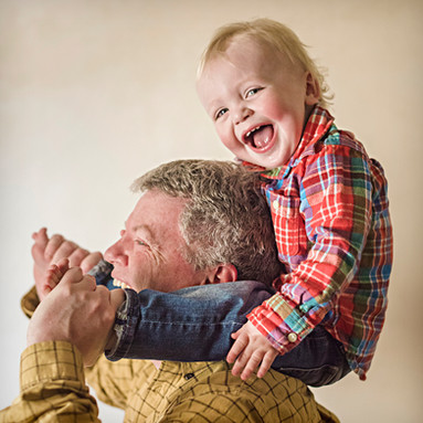 Big Sky Photographer - father and son