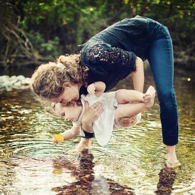 Bozeman Baby Photographer - stream
