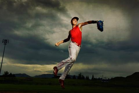 Bozeman Senior Photographer - baseball