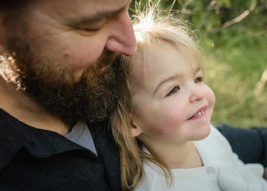 Bozeman Photographer - Father daughter