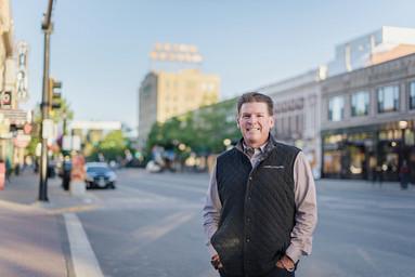 Bozeman Business Portrait - downtown bozeman