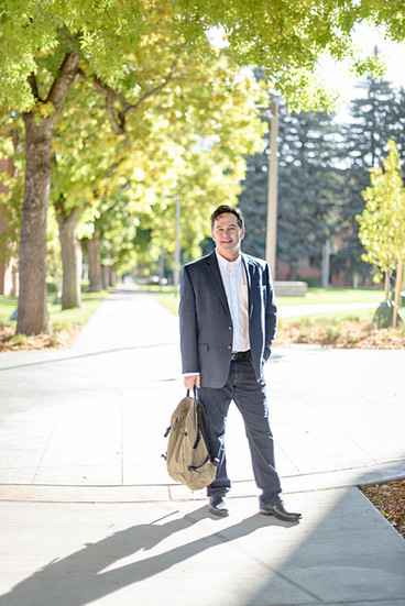Bozeman Business Portrait - college professor