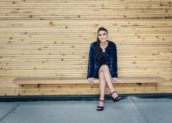 Bozeman Senior Photographer - modern girl