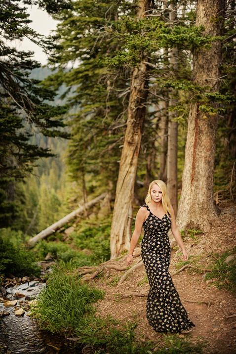Bozeman Senior Photographer - fairy lake