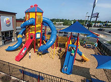 Little Tikes Commercial Sky Builders Playground