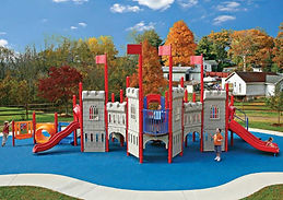 Little Tikes Commercial Kid Builders Playground