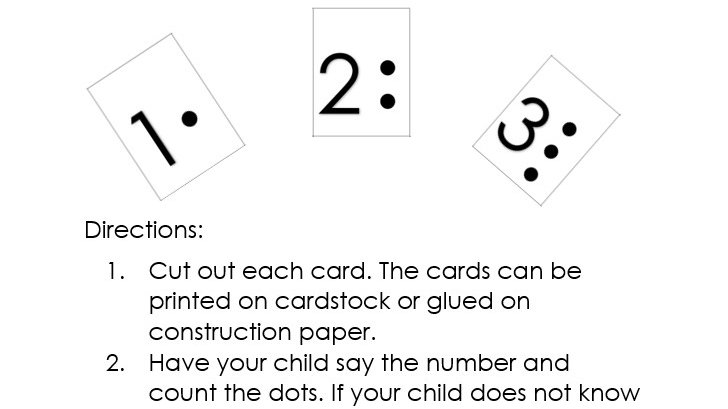 Counting Cards 1-10