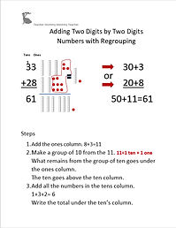 Adding Two Digits by Two Digits Numbers