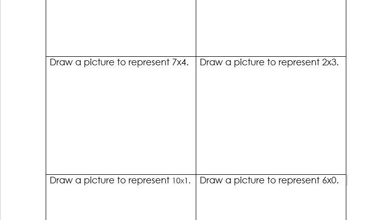 Multiplying Using Groups Worksheet 2