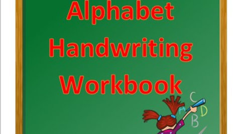 Alphabet Handwriting Workbook (capital letters A-E only)