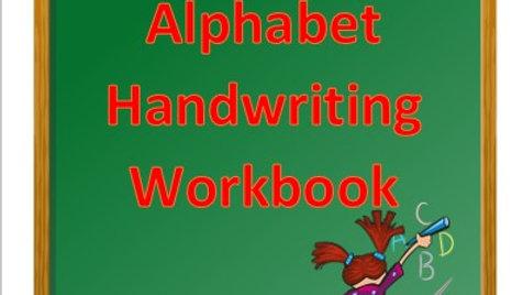 Alphabet Handwriting Workbook (capital letters)