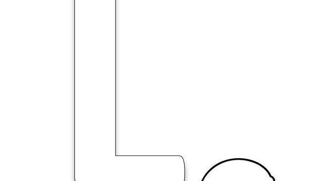 Letter L Coloring Page