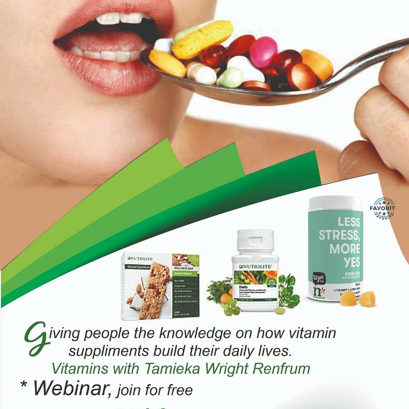 The importance of Vitamins!