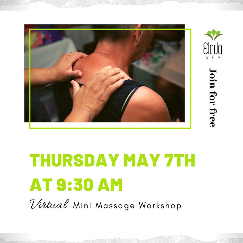 Virtual Mini Massage Workshop