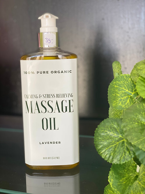 Lavender massage oil 532 ml