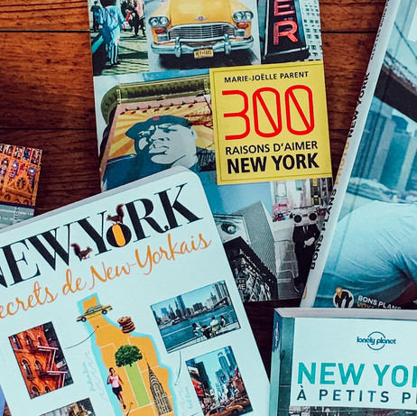 Comment j'ai préparé mon voyage à New York