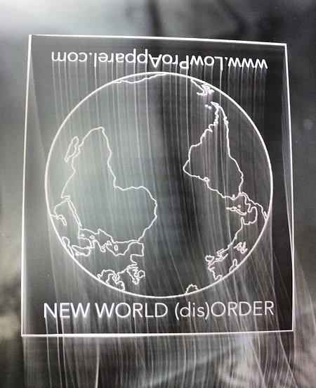 New World (dis)Order Sticker