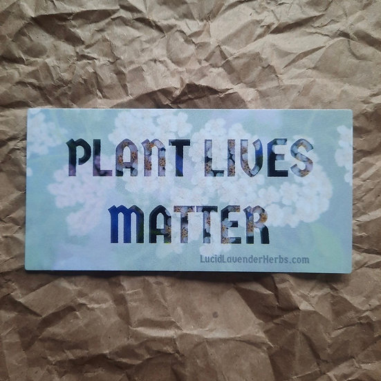 LLH 'PLANT LIVES MATTER' Sticker