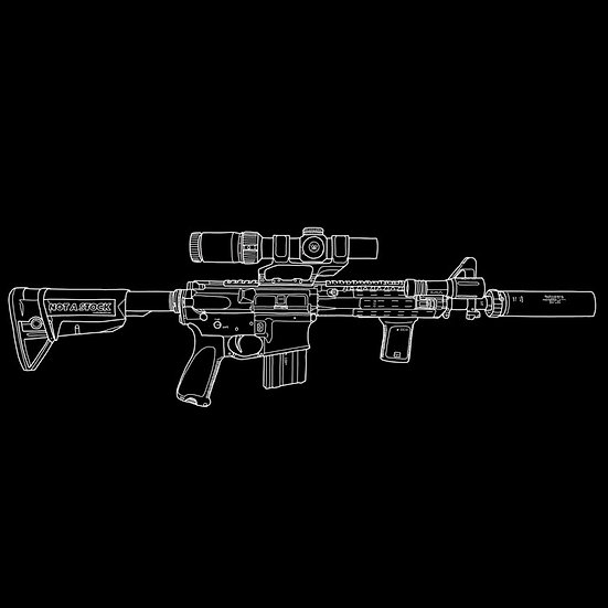 Custom Gun Art
