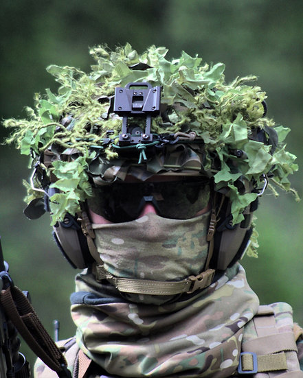 Jungle Augmento™ Helmet Ghillie Cover