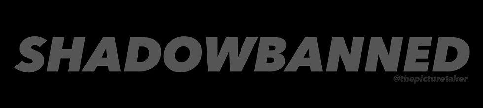 'SHADOWBANNED' Sticker