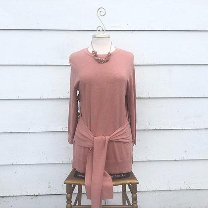 Peach Rose Cotton Sweater