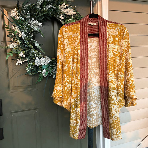 Floral Designed Kimono