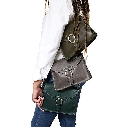 The Drea Convertible Buckle Handbag