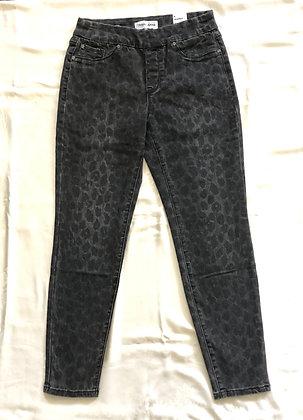 Leopard Print Ankle Jean