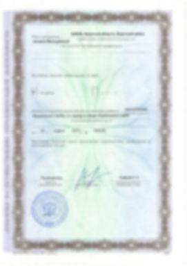Лицензия ИрГАУ
