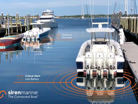Siren Marine_Connected Boat_CriticalAler