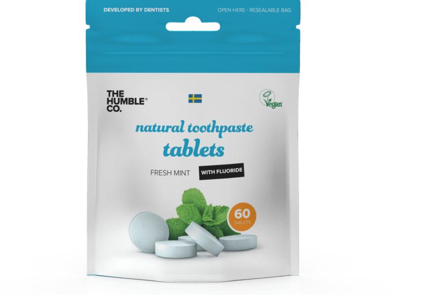 Tandpasta tabletten - Munt