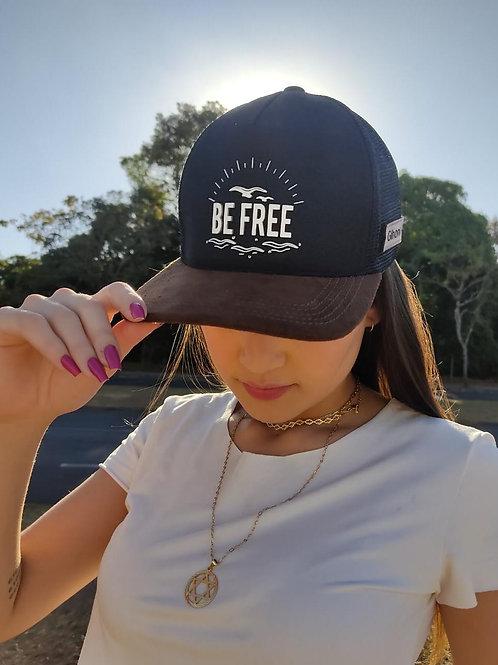Boné BE FREE preto