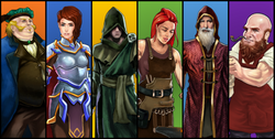 Role Quest Characters
