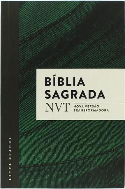 Bíblia NVT - Verde - Letra Grande