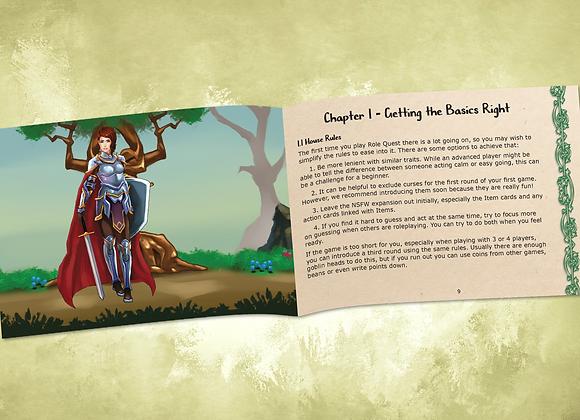 Role Quest Roleplayer's Handbook - Print