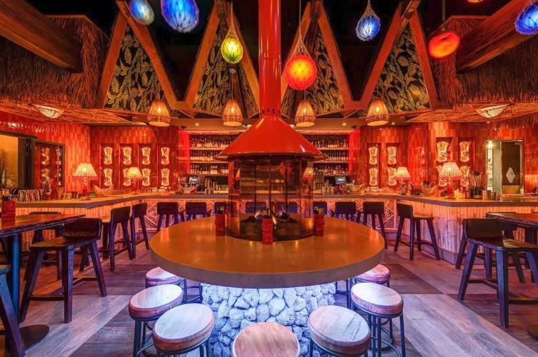 The Grass Skirt Tiki Bar