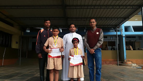 Rosary English School Ajra wins Kolhapur District Athletic awards