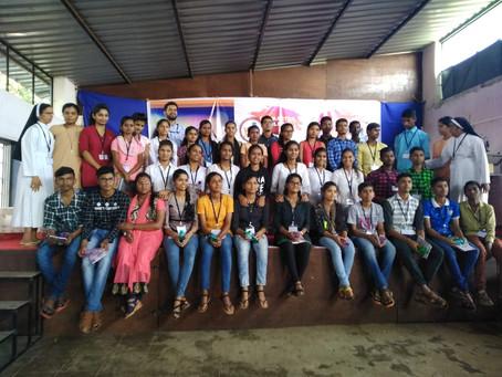 Rosary Church Ajara organises Yuva Sammelan